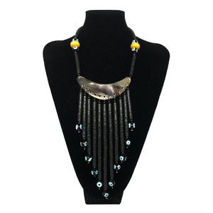 Handmade Gypsy Tribal Horn Necklace