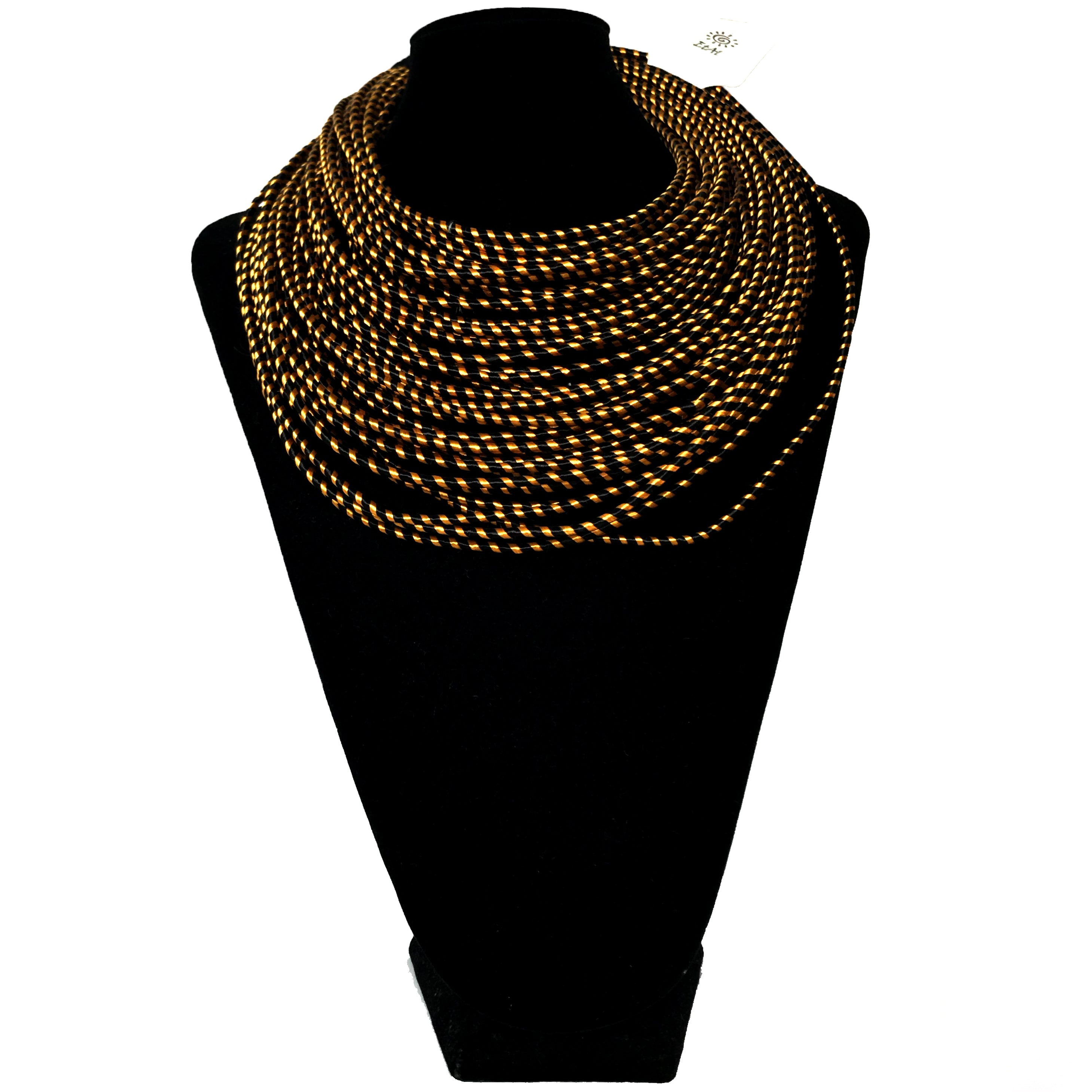 Multi-Cord African Necklace etal store