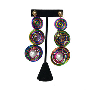 Rainbow Fashion Earrings etal store