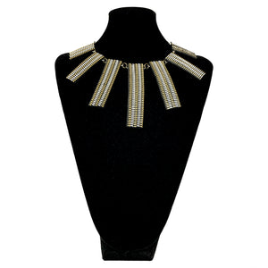 Zipper Statement Necklace