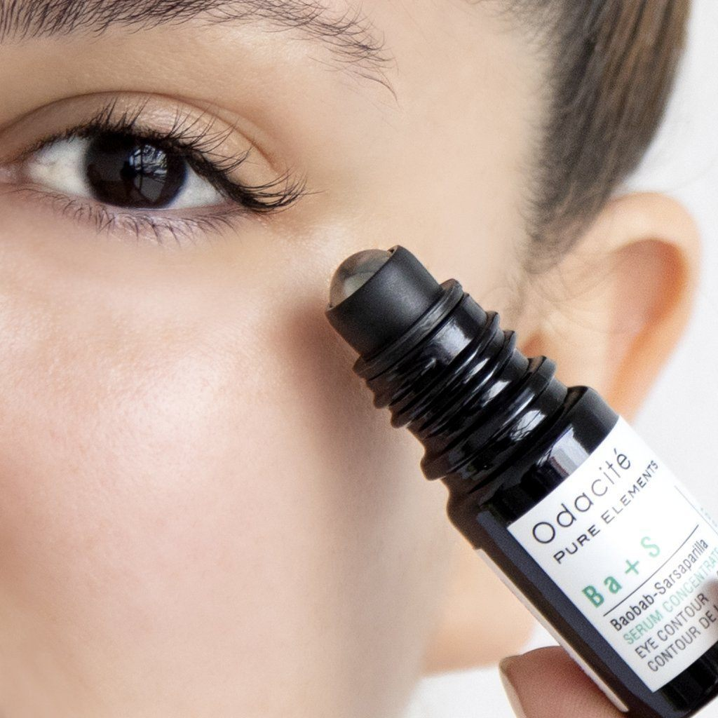 Ba+S | Eye Contour • Baobab Sarsaparilla Serum Concentrate With Rollerball - Odacite Sweden