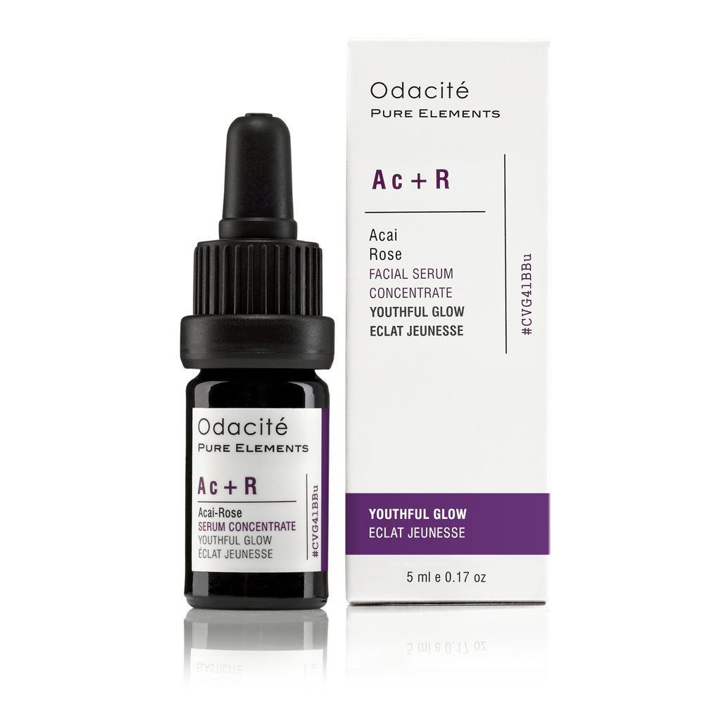 Ac+R | Youthful Glow • Acai Rose Serum Concentrate - Odacite Sweden