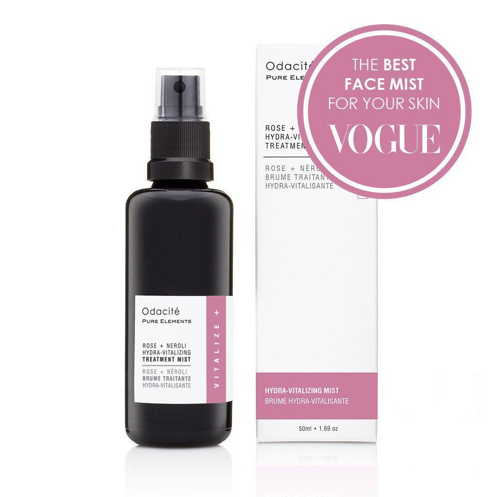 Rose + Neroli • Hydra-Vitalizing Treatment Mist - Odacite Sweden