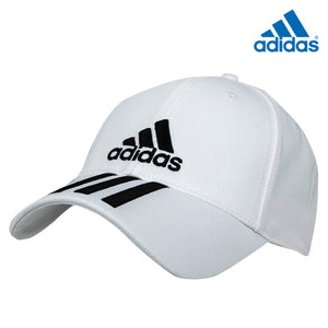 6P 3S CAP COTTO WHITE/BLACK/BLACK