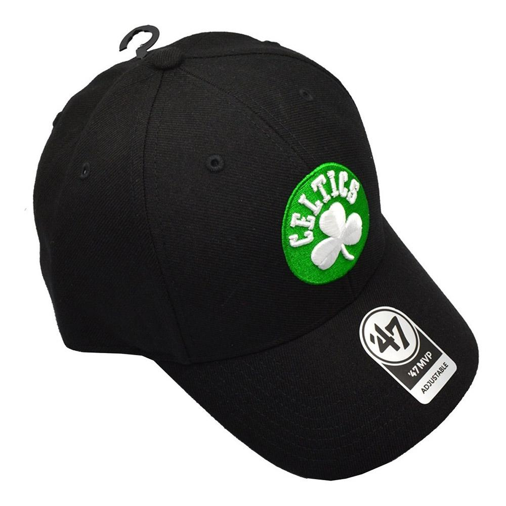 BOSTON CELTICS BLACK MVP 47 MVP WOOL