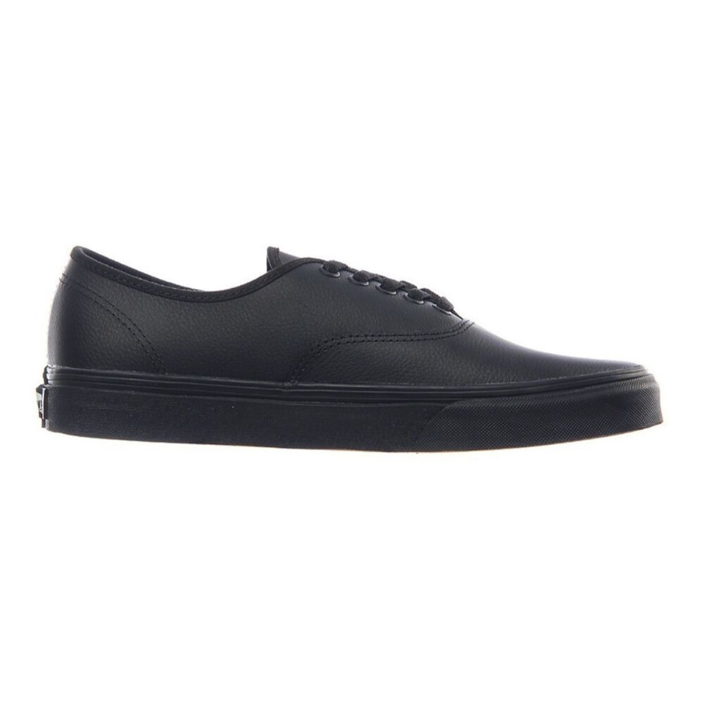 AUTHENTIC LEATHER BLACK BLACK
