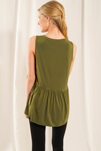 Load image into Gallery viewer, Baby Doll Tank - Metanoia Boutique