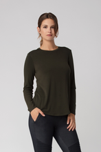 Load image into Gallery viewer, Long Sleeved Crew Neck - Metanoia Boutique
