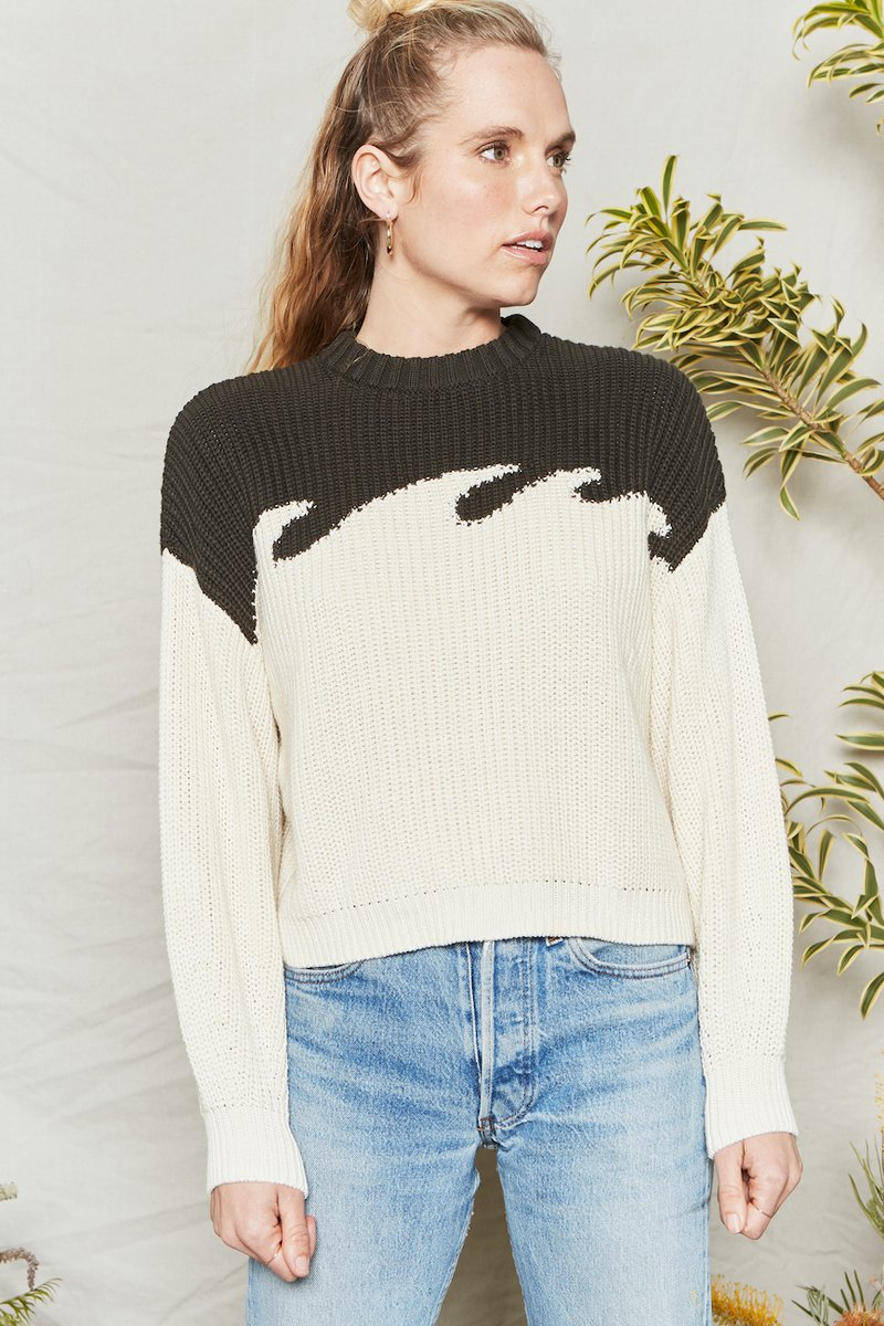 Wave Sweater - Metanoia Boutique