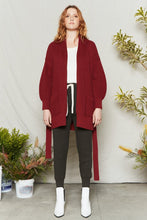 Load image into Gallery viewer, Tie Cardigan - Metanoia Boutique
