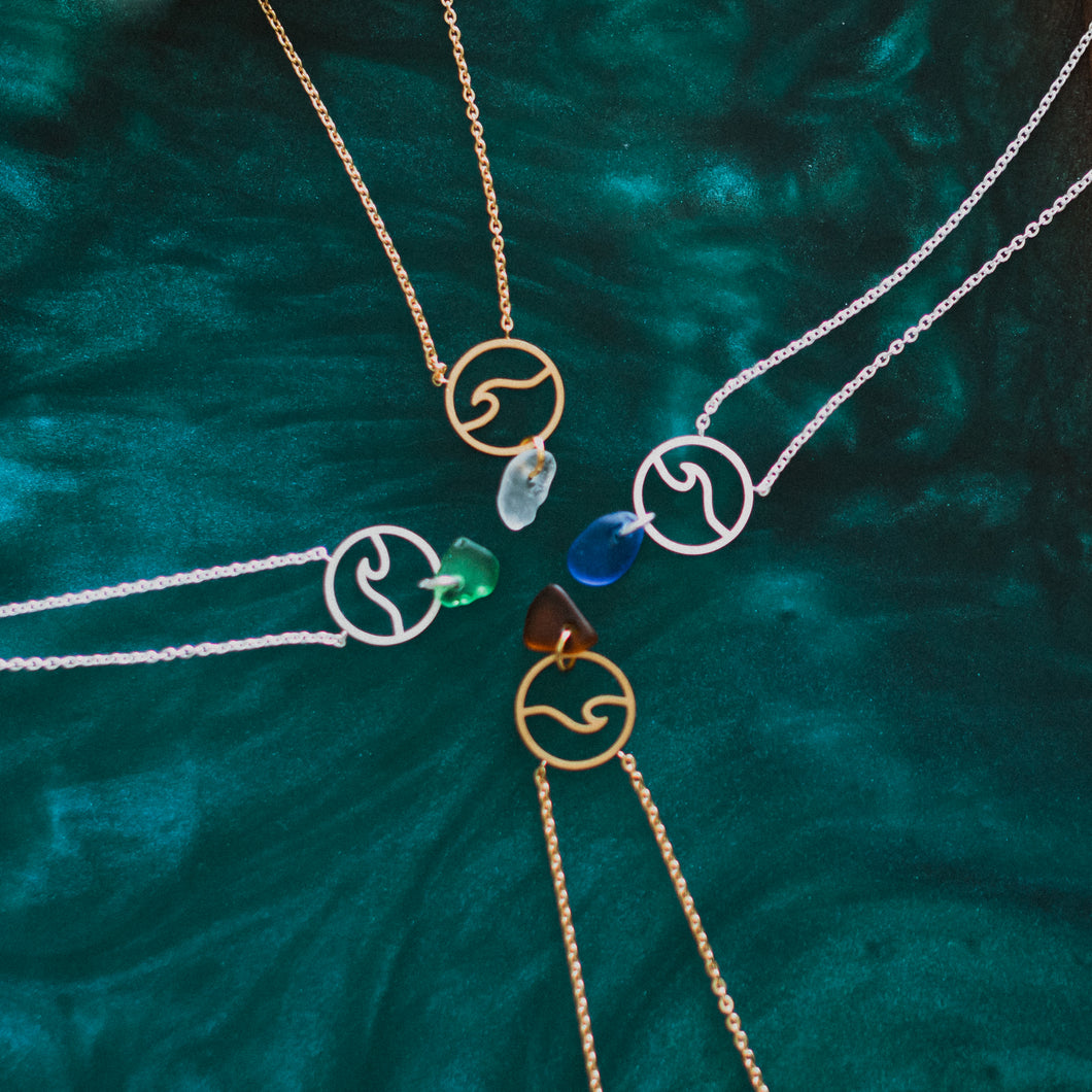 Wave Necklace - Metanoia Boutique