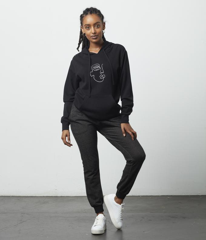 Face Embroidery Hoodie - Metanoia Boutique