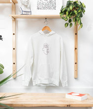 Load image into Gallery viewer, Face Embroidery Hoodie - Metanoia Boutique