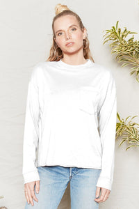 Hemp Pocket Longsleeve - Metanoia Boutique