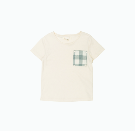 Checker Pocket T-Shirt - Metanoia Boutique