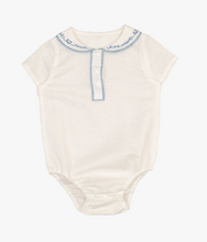 Load image into Gallery viewer, Linen Collar Bodysuit - Metanoia Boutique