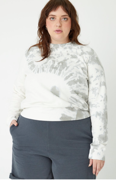 Hemp Cropped Sweatshirt - Metanoia Boutique