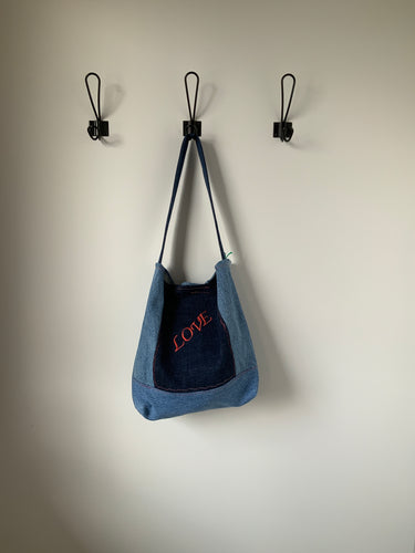 Denim Bag #17 - Metanoia Boutique