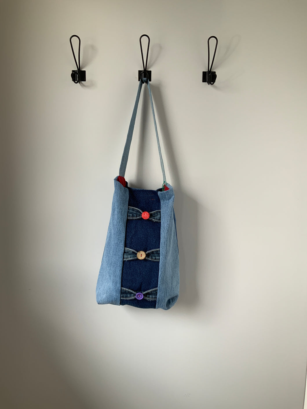 Denim Bag #14 - Metanoia Boutique