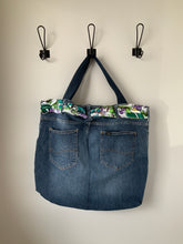 Load image into Gallery viewer, Denim Bag #110 - Metanoia Boutique