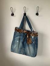 Load image into Gallery viewer, Denim Bag #116 - Metanoia Boutique