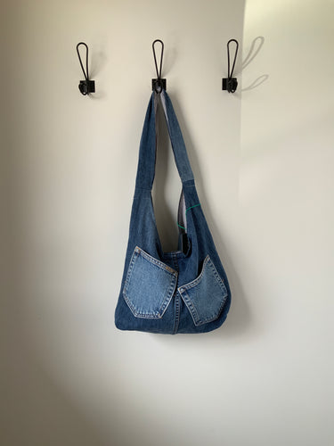 Denim Bag #11 - Metanoia Boutique