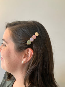 Enamel Hair Clip - Metanoia Boutique