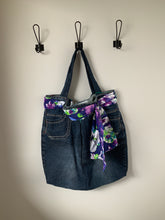 Load image into Gallery viewer, Denim Bag #106 - Metanoia Boutique