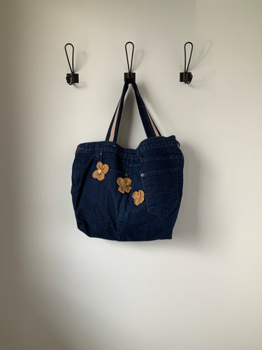 Denim Bag #4 - Metanoia Boutique