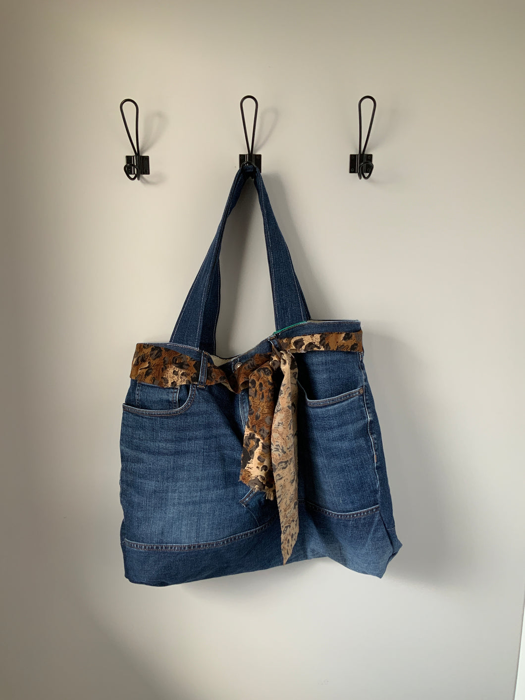 Denim Bag #104 - Metanoia Boutique
