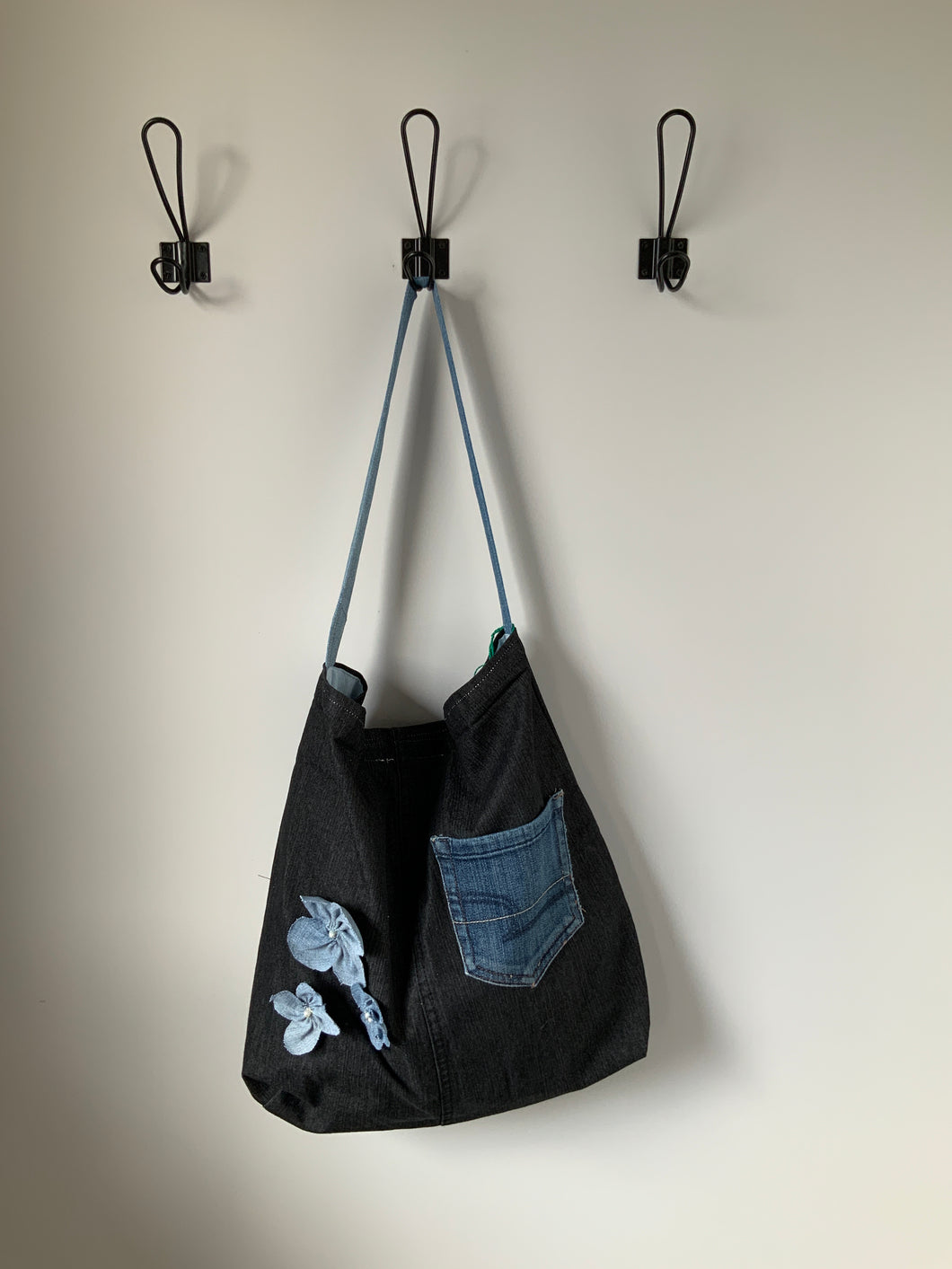 Denim Bag #55 - Metanoia Boutique