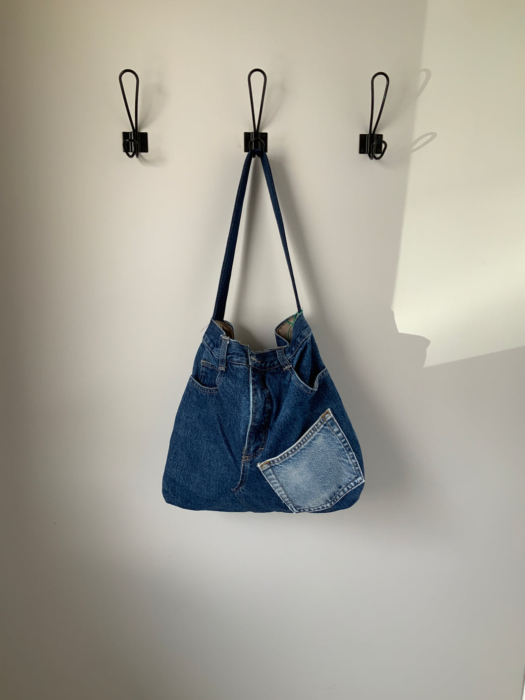 Denim Bag #12 - Metanoia Boutique