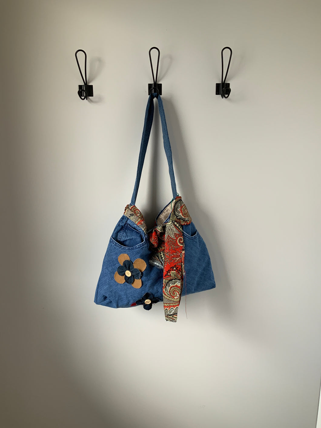 Denim Bag #20 - Metanoia Boutique