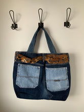 Load image into Gallery viewer, Denim Bag #46 - Metanoia Boutique