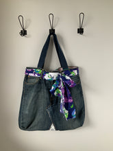 Load image into Gallery viewer, Denim Bag #121 - Metanoia Boutique