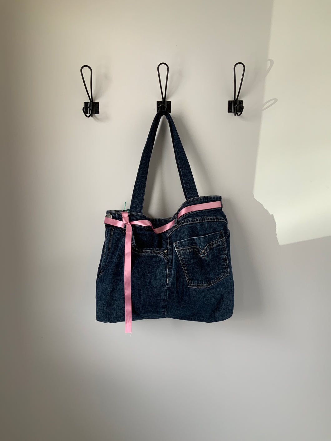 Denim Bag #28 - Metanoia Boutique