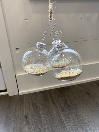Beach Glass Ornament - Metanoia Boutique