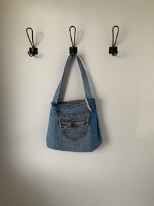 Denim Bag #101 - Metanoia Boutique