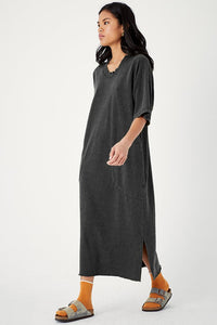 Hemp Patch Dress - Metanoia Boutique