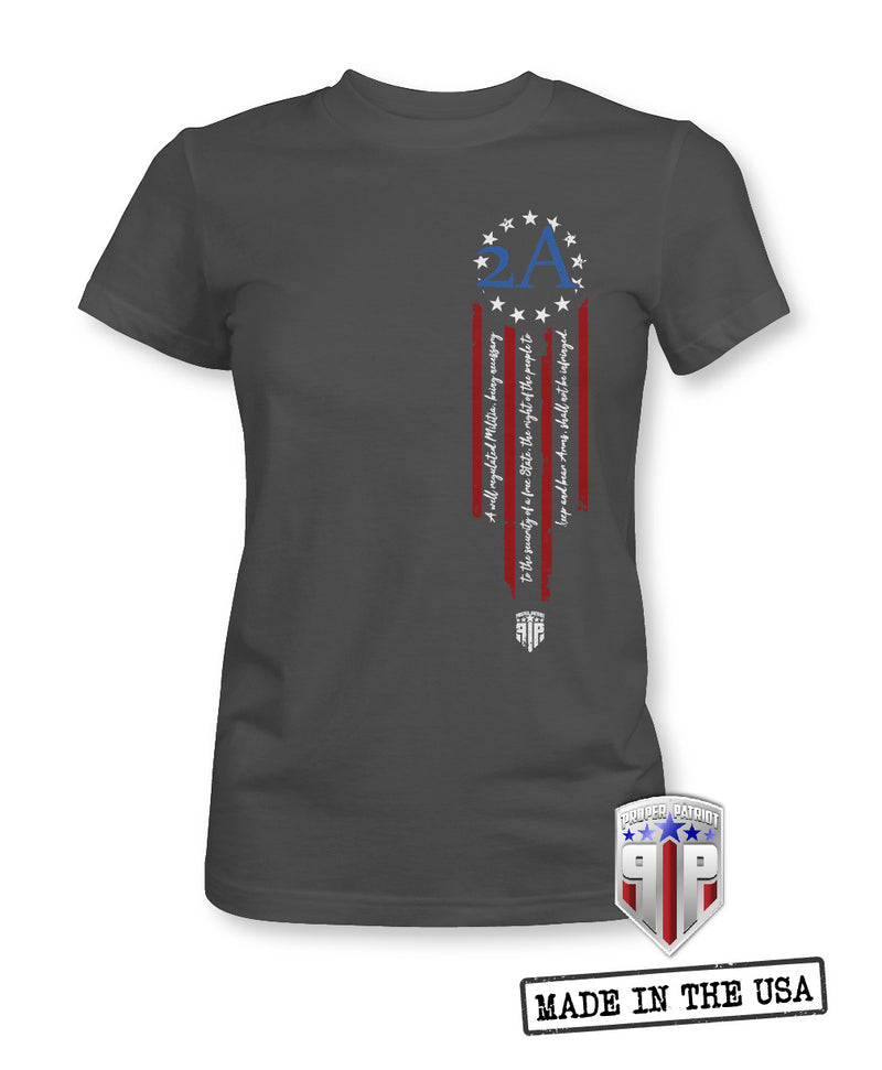 Shall Not Be Infringed - 2A Shirts - Flag Apparel Shirts - Women's Patriotic Shirts