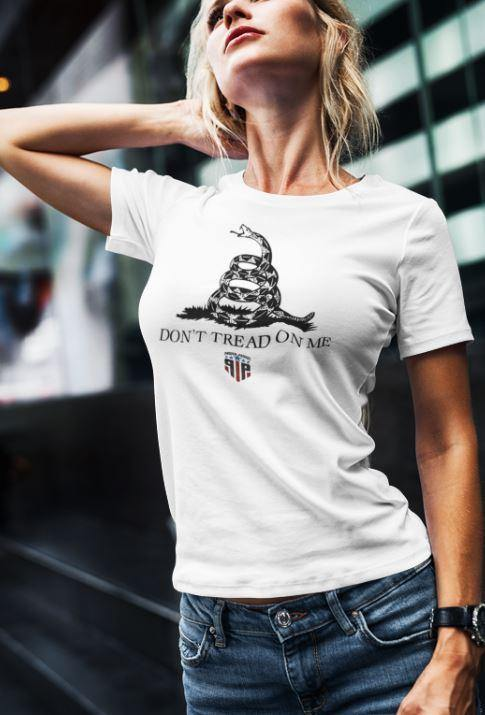 Don't Tread On Me Shirts for Women - Merica Shirt - Women's Patriotic Shirts