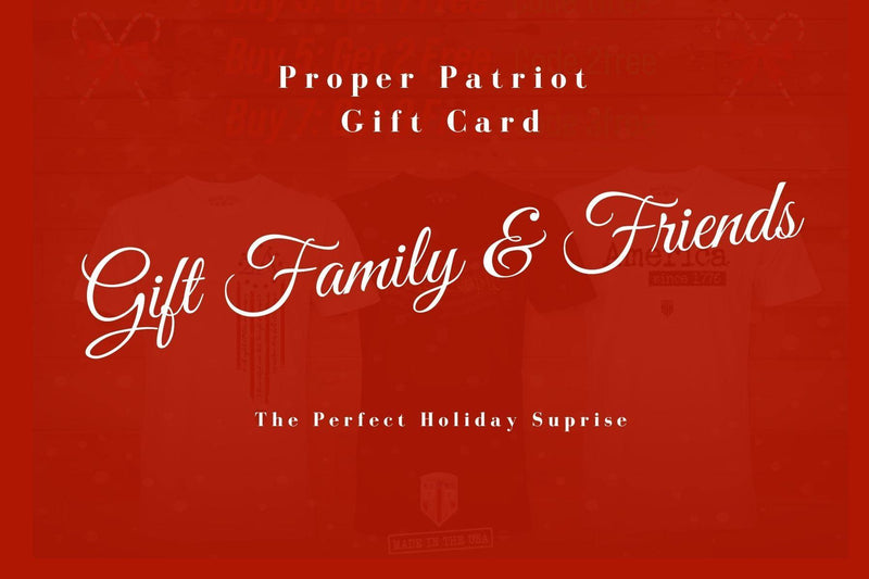 Gift Cards For Your Family & Friends