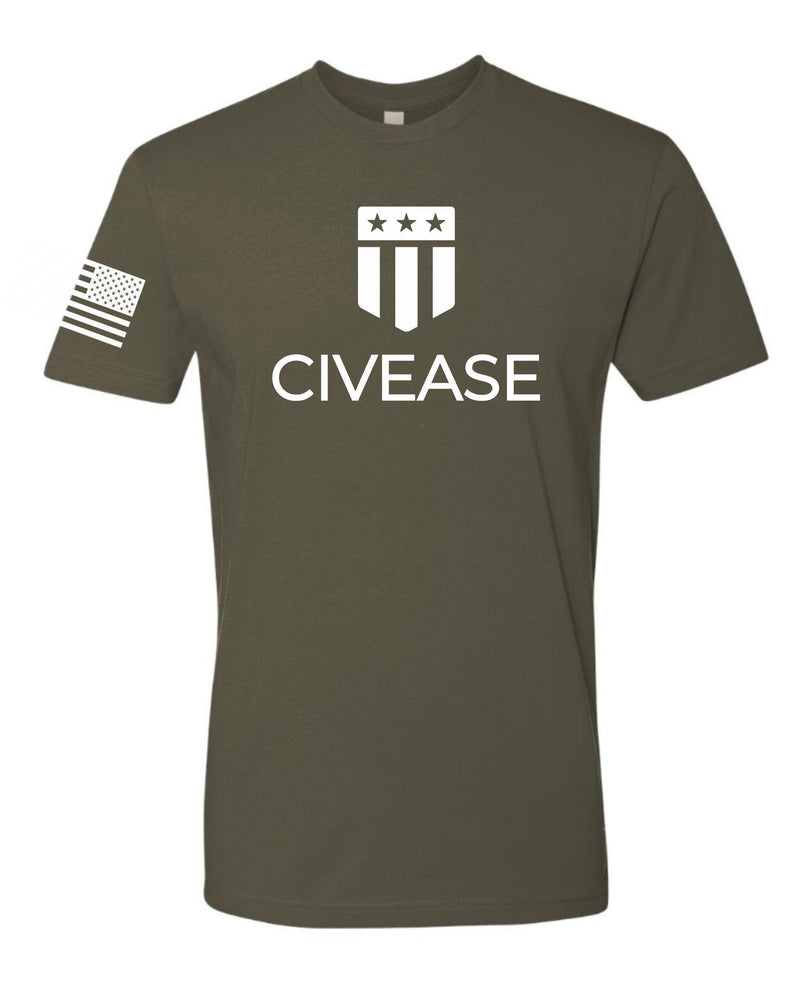 CIVEASE - White Logo - Custom - Men's Shirt