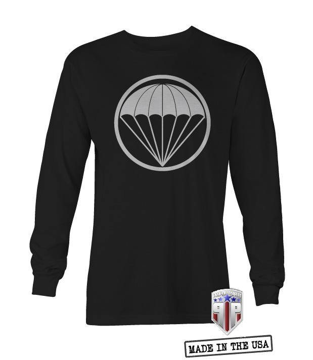 Canopy Art - Little Groups of Paratroopers - UNISEX Long Sleeve Shirt