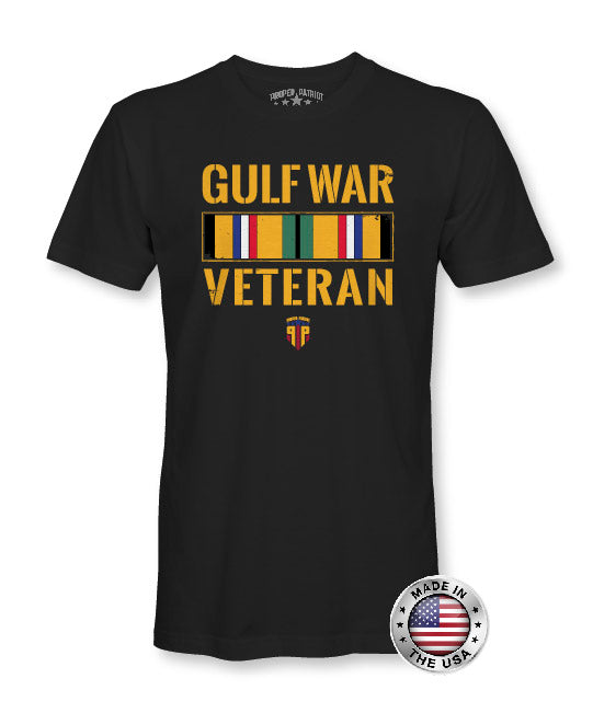 Gulf War Campaign Veteran - Military Gear - Patriotic Shirts for Men