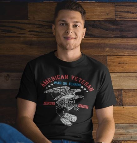 War On Terror - American Eagle - Patriotic Shirts for Men