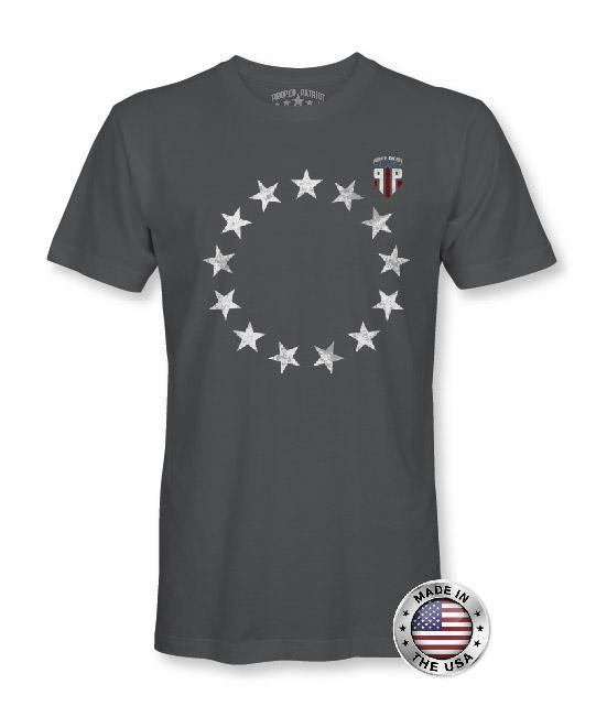 Betsy Ross Flag - American Flag Shirt - Patriotic Shirts for Men