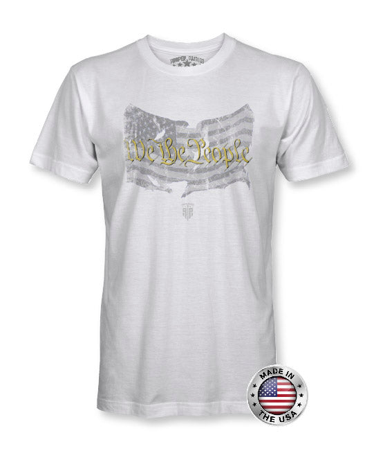 We The People - American Flag Apparel - USA Shirt - Patriotic Shirts for Men