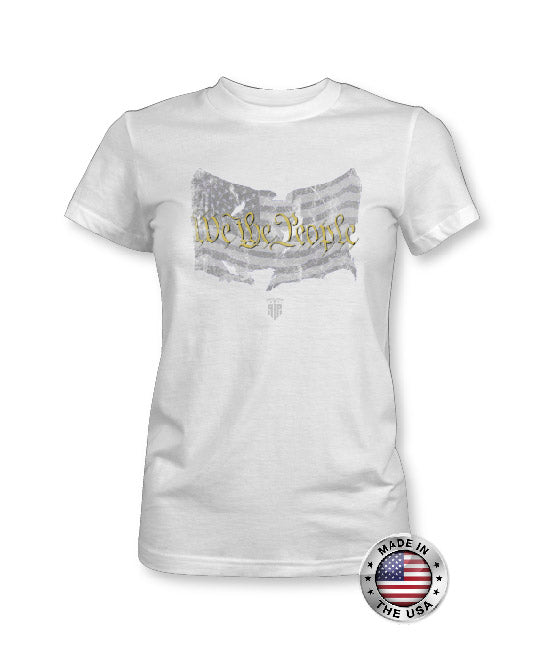 We The People Shirt - American Flag Apparel - USA Shirt - Women's Patriotic Shirts
