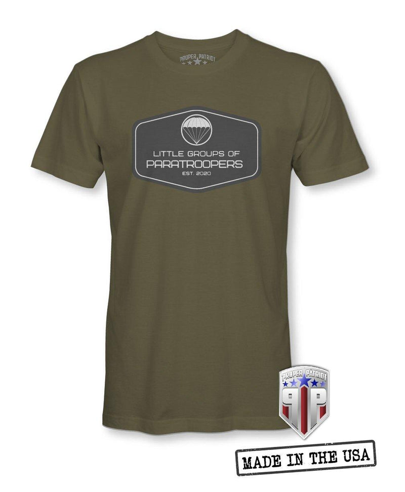 LGOP Patch - Little Groups of Paratroopers - Men's Shirt